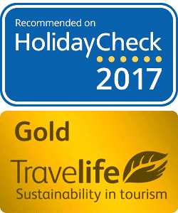 Travelife Gold 2017 | HolidayCheck Recommended