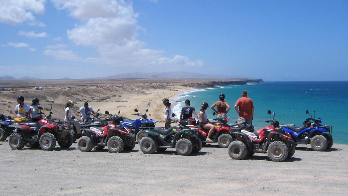 Quad Excursión Hotel Corralejo Fuerteventura