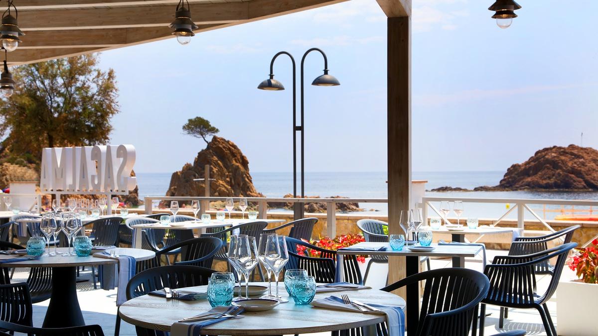 restaurant vistes al mar Tossa de mar