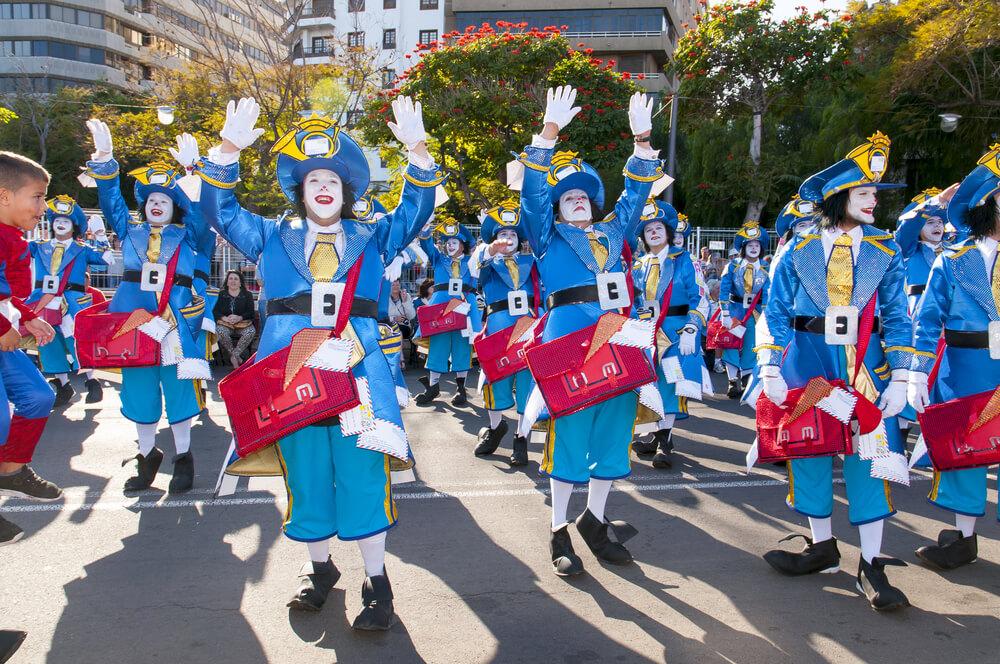 teneriffa karneval 2020 termine