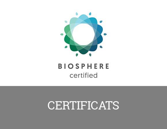 ISO 9001 - UNE 182001 depuis 2006. Un service de qualité, le travail d'équipe et l'accessibilité entre autres.