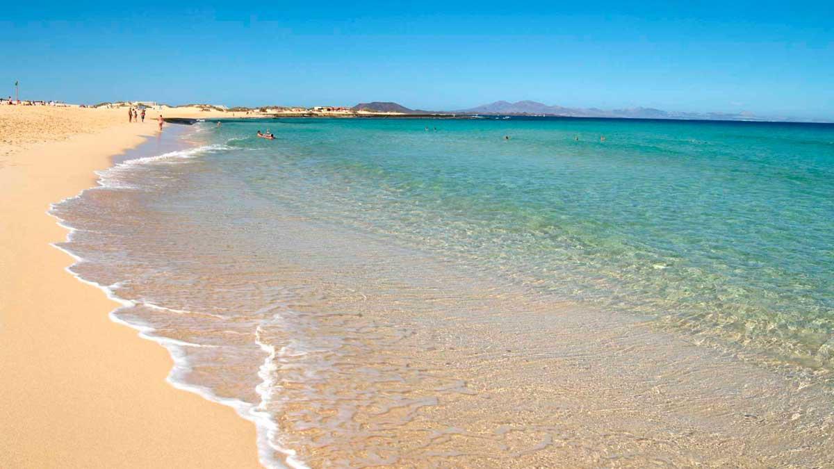 Playas Arena Blanca - Corralejo Fuerteventura