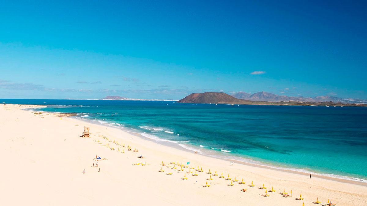 Playa de el Cosaron    Corralejo Fuerteventura