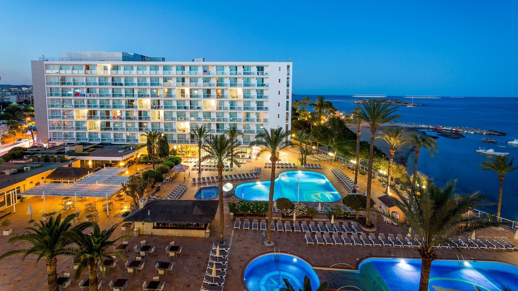 Ibiza Karte Playa D En Bossa.Sirenis Hotel Goleta Spa