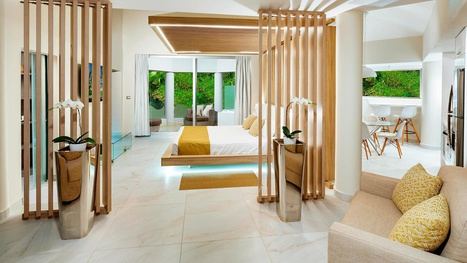 Sirenis Cocotal Beach Resort Punta Cana Club Platinum Jr Presidential Suite der Bett