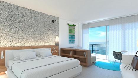 Grand Sirenis San Andrés, Colombia, Habitación Doble con balcón y vista al mar